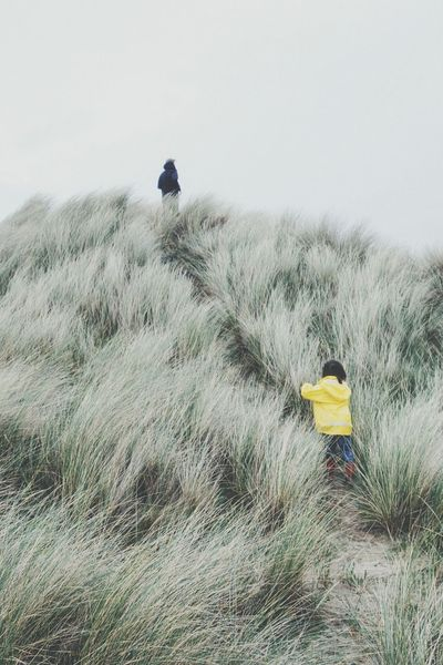 Wait for me.... Sanddunes Pop Of Color Beach Enjoying Life Lauraloophotography