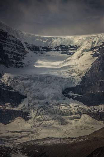 Columbia Icefields in the Canadian Rockies near Jasper. Albert Canadian Rockies  Beauty In Nature Canada Climate Change Cold Temperature Columbia Icefield Day Glacier Landscape Mountain Nature No People Outdoors Scenics Sky Snow Summer Tranquil Scene Tranquility