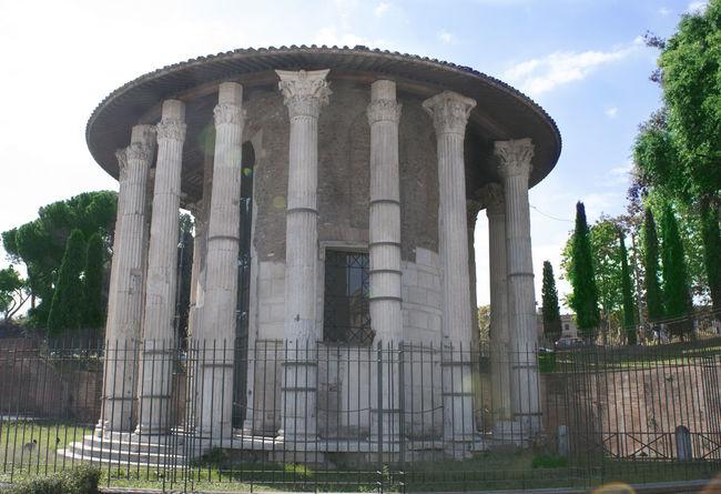 temple of vesta in rome Architectural Column Architecture Day No People Outdoors Sky Temple Vesta