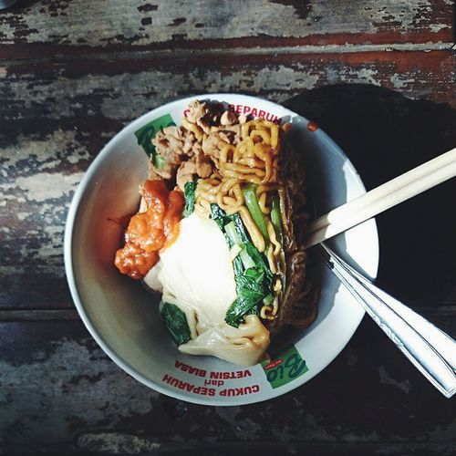 Marimaem Mieyamin Noodle Eating instafood foodaddict