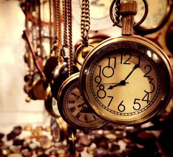 Time Clock Antique Old-fashioned Pocket Watch Close-up Watch No People Gold Colored Clock Face Minute Hand Hour Hand Outdoors Day