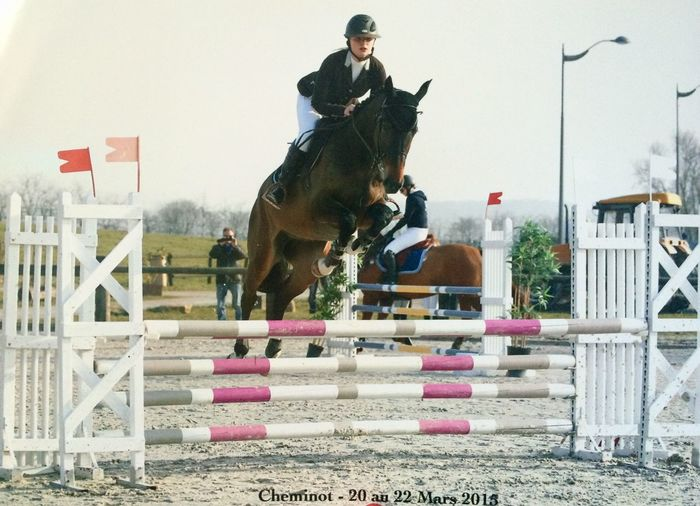 On ira le plus loin possible Me That's Me Girl Blonde Love Horse Gpa Ben Jump Competition
