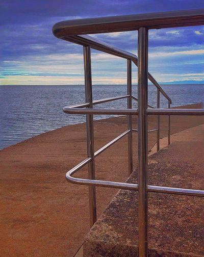 Sea Seascape Sea And Sky Landscape Seascape IPhoneography