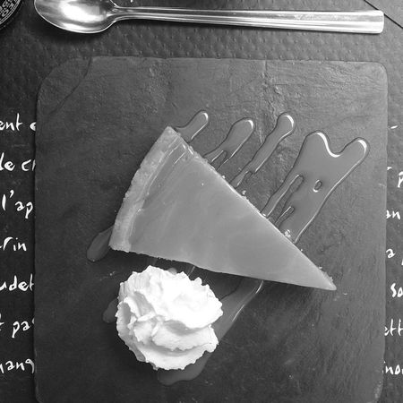 Dely Artist EyeEmNewHere Happiness Love Paris Peace Blackandwhite Bnw Close-up Dessert Directly Above Eating Utensil Food Food And Drink Freshness Fustration High Angle View Indoors  Indulgence Landscape Madewithsoul No People Paper Pattern Plate Still Life Sweet Sweet Food Table Tray White Color Wood - Material