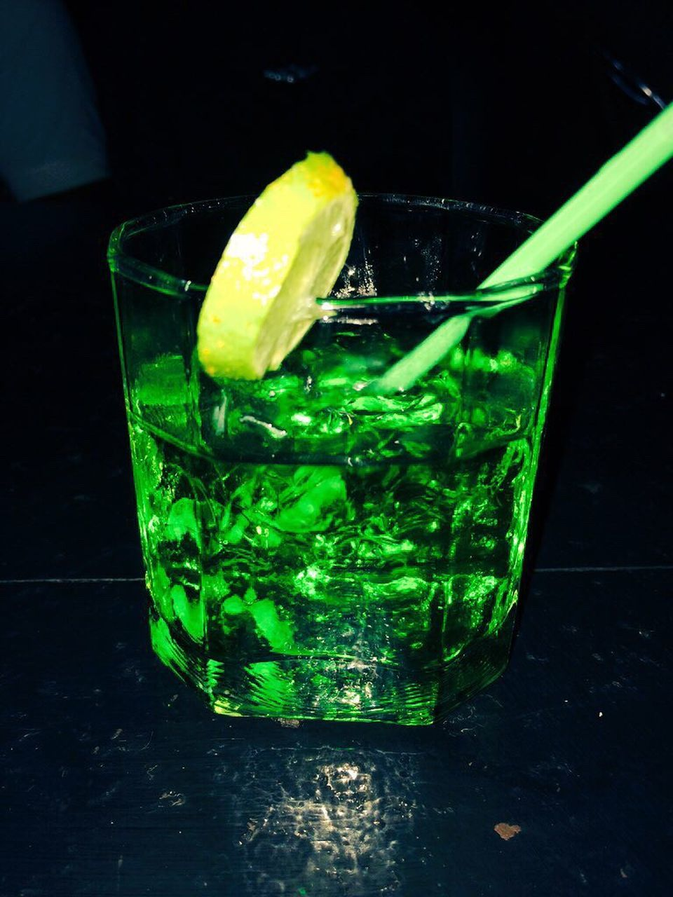 refreshment, green color, drink, mojito, food and drink, drinking glass, cocktail, mint leaf - culinary, freshness, drinking straw, close-up, indoors, no people, lime, cold temperature, day
