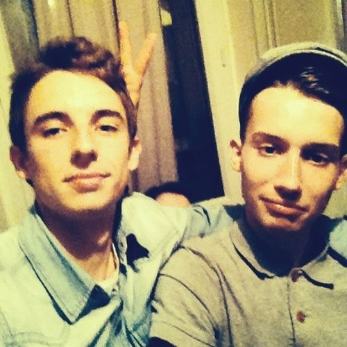 Boy Friends Party Smile