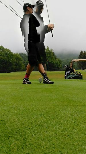 Got alittle creative on my golf pix today... Only Men Golf Course Golf Sportsman Sports Clothing Golf Club Golfer Green - Golf Course Being Creative. Expressing Myself. No Filter, No Edit, Just Photography Golf Course
