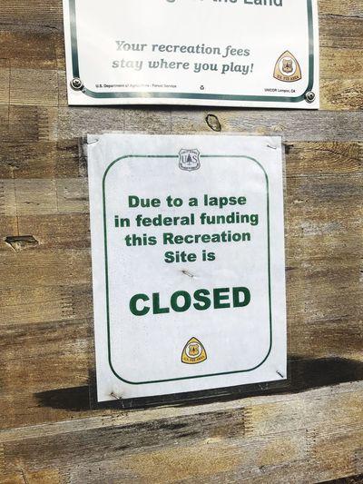 Sign at USA