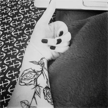 Myarm Hand Blackandwhite Taking Photos Imbored