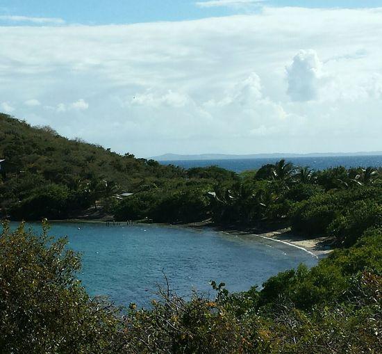 ...a view of Punta Soldado beach west. .. Island Beautiful Nature Sea Isla Culebra Puerto Rico