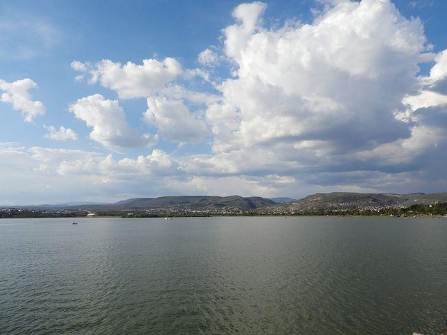 Cloud - Sky Sky Outdoors No People Tranquility Water Day Scenics Sea Nature Blue Landscape Beauty In Nature City Guanajuato Leon Parque Metropolitano De León
