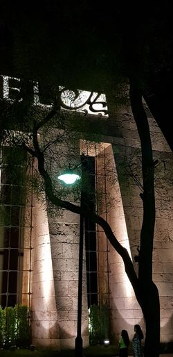 Illuminated City Shadow Architectural Column Architecture Built Structure EyeEmNewHere This Is Strength