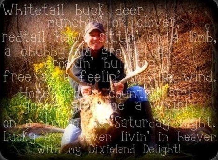 ONE LUCKY HUNTER LAST YEAR!!!!! Enjoying Life Big Buck Outdoors❤