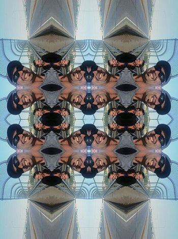 Multiple me's Symmetry Pattern Headshot Two People Close-up Portrait Sunglasses Cityscape Backgrounds Day