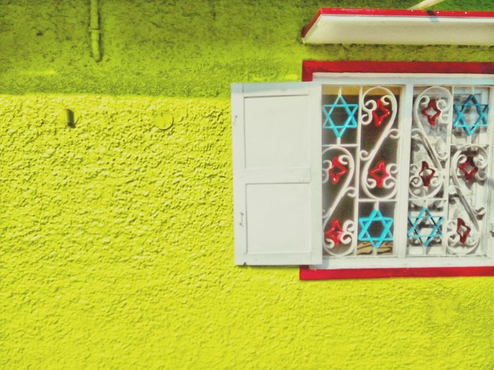 Multi Colored No People Outdoors Grass Day Yellow Architecture Starofdavid JewTown Cochin