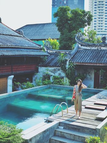 Architecture Built Structure Water Nature One Person Women Building Exterior