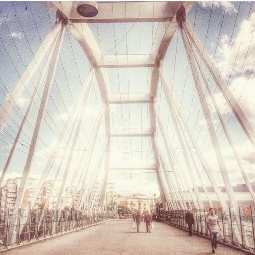 Bro Bridge Solna Stockholm Mallofscandinavia