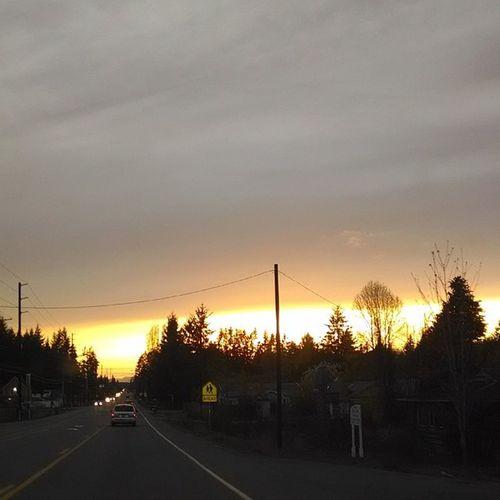 The Sunset is Gorgeous Tonight . Unedited Nofilter Beautiful Sky Cellphonephotography Pictureoftheday Picoftheday Photooftheday Portorchardwashington Droidmaxx Fredmeyer