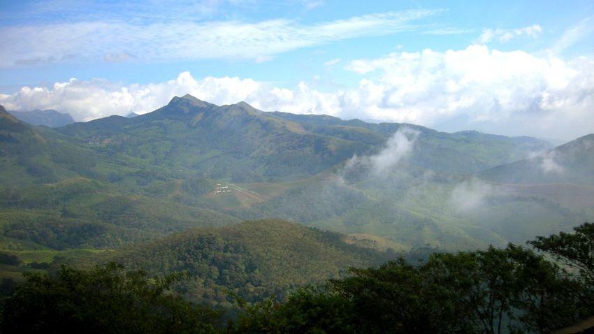 Mountain Fog Landscape Valley Mountain Range Nature Scenics Beauty In Nature Cloud - Sky Forest Hiking Munnar Kerala Kerala, India