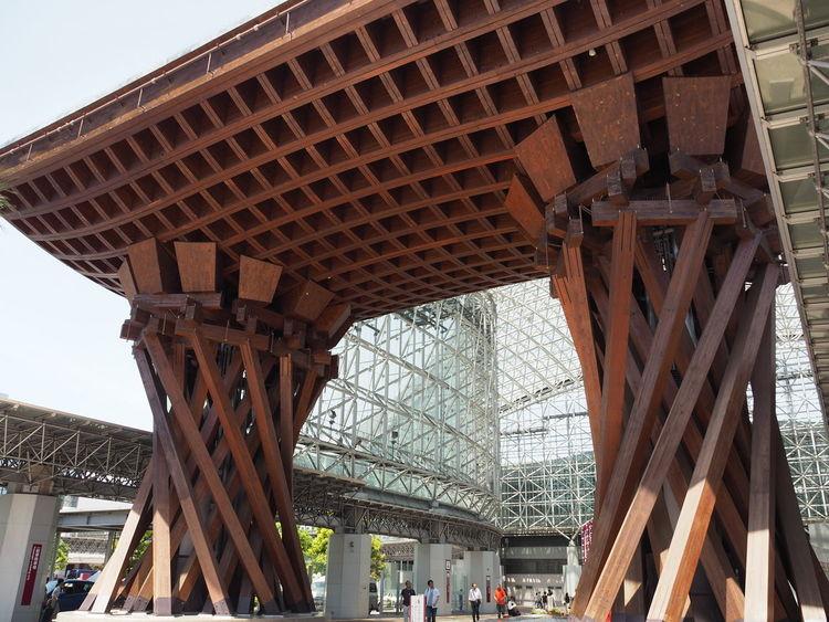 Day Kanazawa Kanazawa,japan Ishikawa-ken Architecture Kanazawa Station