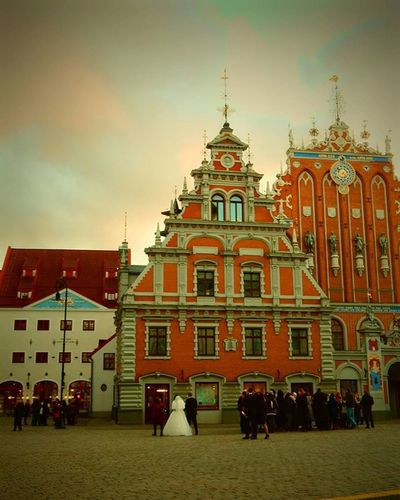 Melngalvju nams. Rātslaukums. Melngalvjunams Ratslaukums Riga Riga Latvija Latvia Bride Līgava Rudens Rudenskrasas Autumn Autumncolors