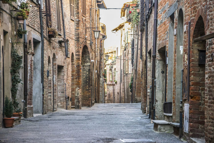 Città della Pieve, Perugia (Italy) Perugia Perugia Italy Umbria, Italy Architecture Direction Footpath No People Old Outdoors Road Street Streetphotography The Way Forward Umbria