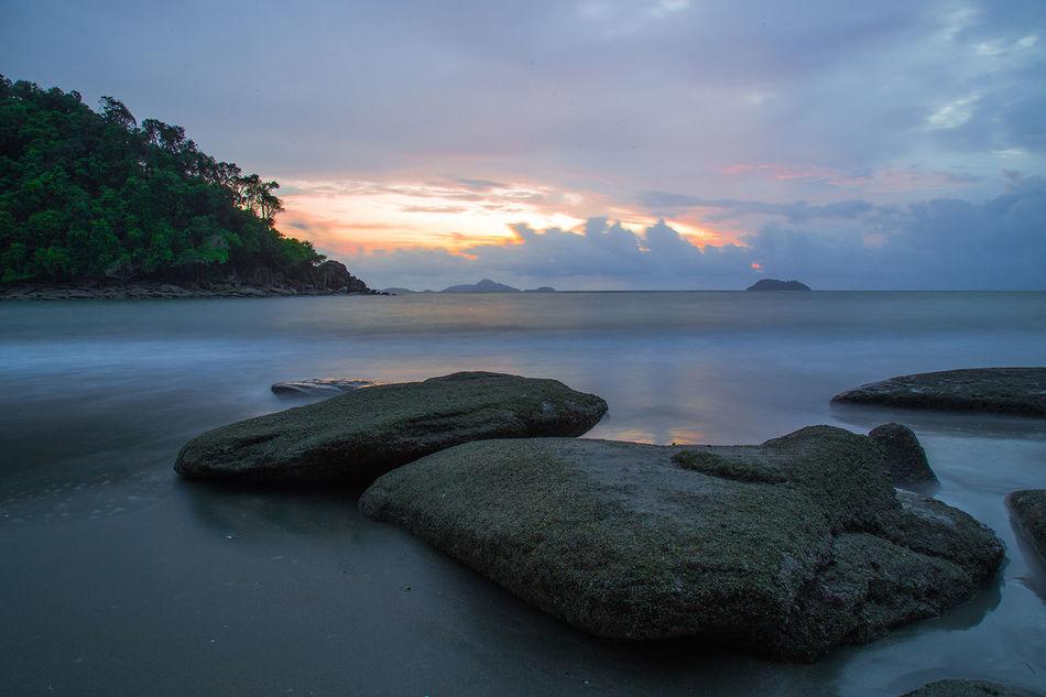 Water Sea Sunset Tree Nautical Vessel Beauty Beach Summer Sky Landscape Calm Island Seascape