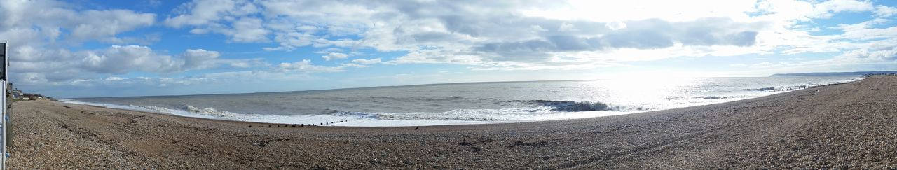 Sea View at Bexhill today Panoramic Photography No Edits No Filters Samsung S5