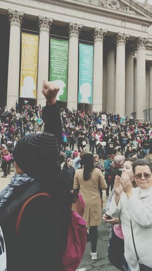 Large Group Of People Architecture Real People Women Men Womensmarch Mix Yourself A Good Time Connected By Travel