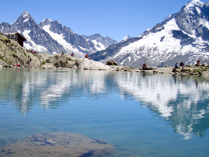 European Alps Beauty In Nature Cold Temperature Day European Alps Lake Lake View Landscape Mountain Mountain Range Nature No People Outdoors Reflection Scenics Sky Snow Snowcapped Mountain Tranquil Scene Tranquility Tree Water Winter