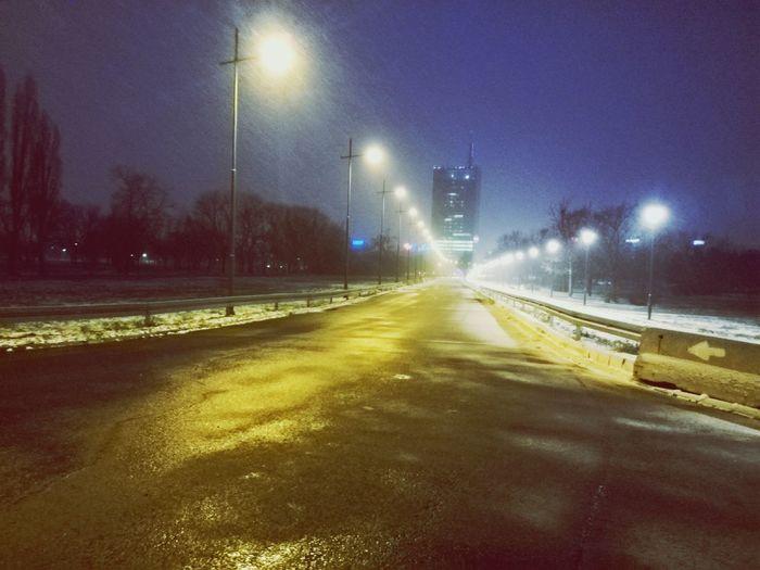 Vanishing Point New Belgrade Belgradenight
