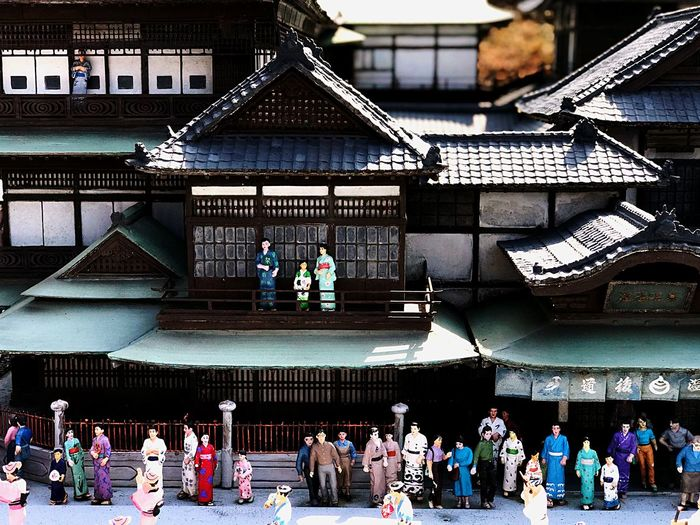 edo town Miniture Time Travel Old Japanese Style Tokyo,Japan Tokyo Old Tokyo Edo Town Old Japanese Town Old Town Old House Large Group Of People Crowd Real People Architecture Group Of People Built Structure Men Building Exterior Day Lifestyles Leisure Activity Sunlight Nature Outdoors Building