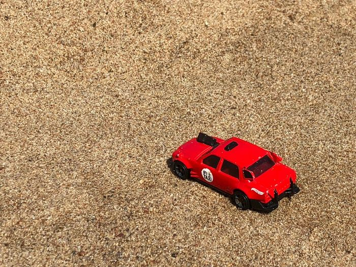 Red hot wheels