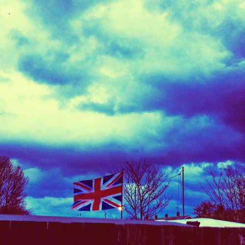 Angrysky Britishweather Exploring New Ground Sky And Clouds Nature_collection Skyline Storm Clouds Cold Days