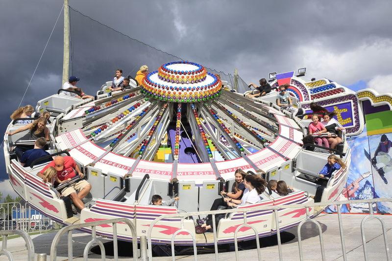 A Good Time Carnival New Brunswick, Canada Amusement Park Amusement Park Ride Crowd Leisure Activity Outdoors