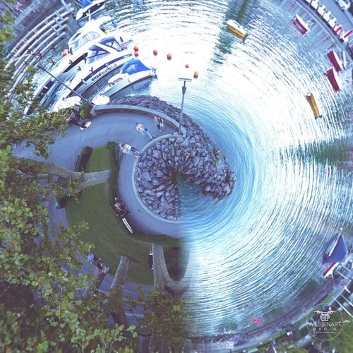 Creativity Person Circle Outdoors Multi Colored Full Frame Fragility City Life Lausanne Switzerland 🇨🇭📷good morning vibes📷 🇨🇭
