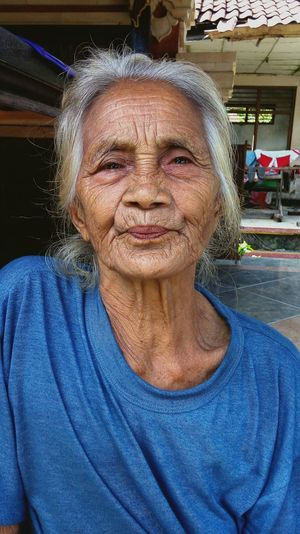 The Portraitist - 2016 EyeEm Awards my grandmother happy face. Grandmother Happy People Family❤