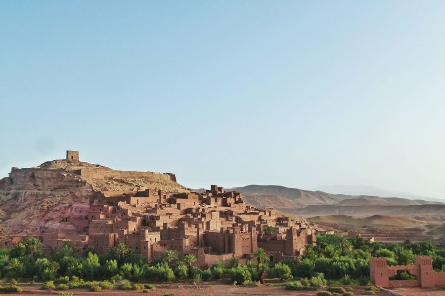 Ouarzazate Morocco Kasbah Deserts Around The World Palm Trees Oldtown Traveling Travel Photography Travel Landscape Landscapes City Babel Landscapes With WhiteWall The KIOMI Collection The Great Outdoors With Adobe The Architect - 2016 EyeEm Awards Lost In The Landscape