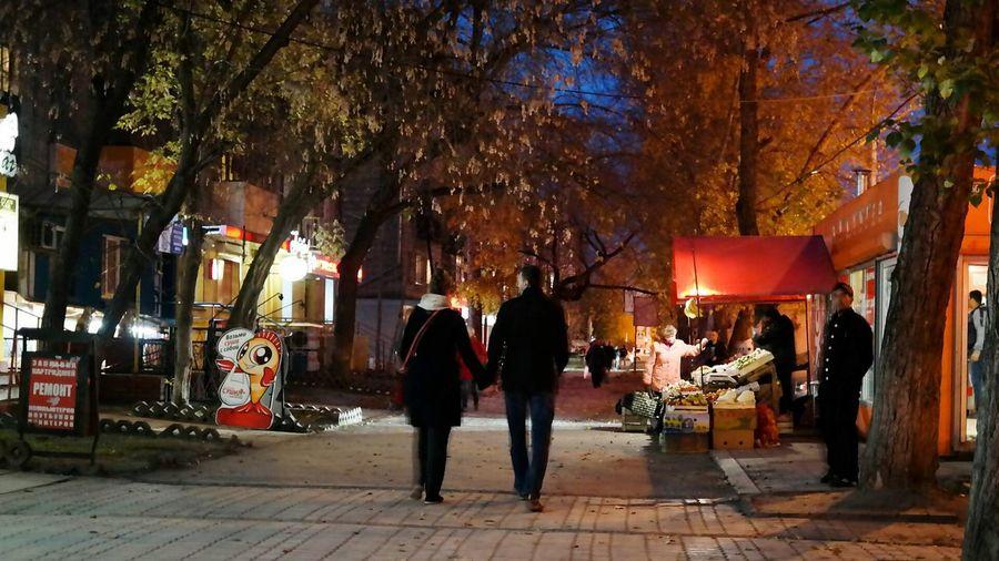 Осень в городе Night Lights Streetphotography Autumn осень Autumn Colors