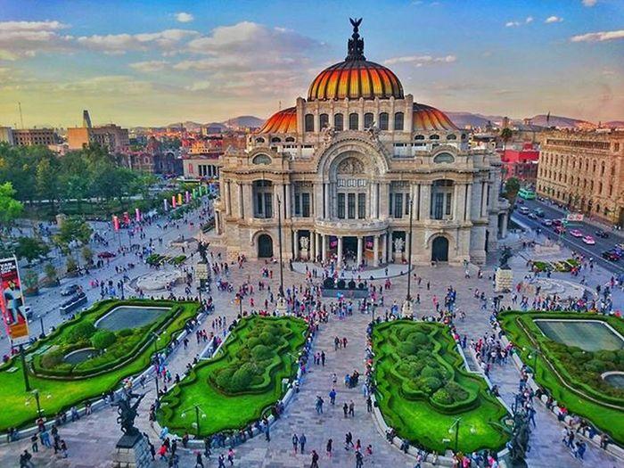 El Palacio de Bellas Artes. Cdmx Ciudaddemexico XperiaZ3 Mobilephotography Bellasartes