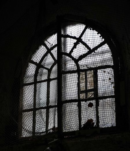 Eastern State Penitentiary Eastern State Penitentiary Window Indoors  Architecture Built Structure Building No People Day Sunlight Glass - Material Arch Pattern Old Low Angle View