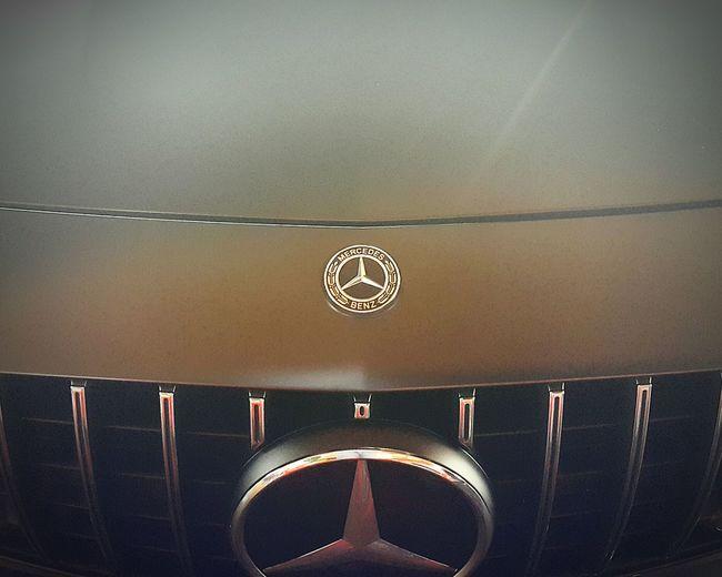 Mercedes Close-up