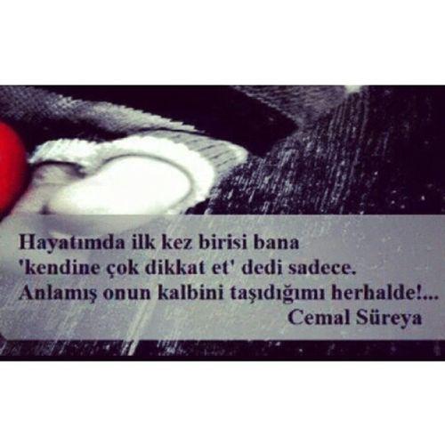 Cemal Süreya Poems Poet Anlamış onun kalbini taşıdiğımı..!! --->>@cylngnl40