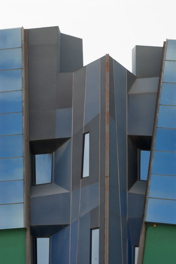 Building detail Architecture Building Exterior Built Structure Modern Outdoors Urban Geometry Las Palmas Urban Geometry. Looking Up