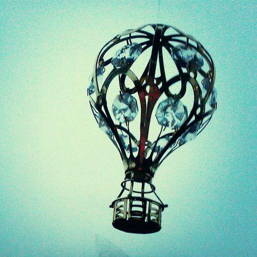 Hot Air Balloon <3 Sparkle Car Decor