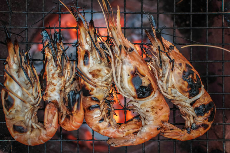 Beach Beautiful Nature Clean Close-up Day Dinner Eating Food Freshness Freshness Grill No People Seafood Shirmp Summer Sweet Thailand Travel First Eyeem Photo