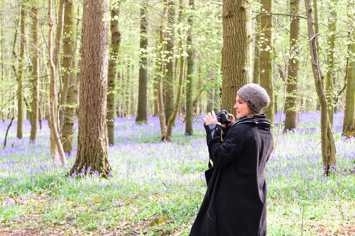 Belgium Bluebell Wood Bluebells Casual Clothing Enchanted Forest EyeEm Nature Lover Forest Hallerbos Hyacinth Leisure Activity Lifestyles Nature_collection Non-urban Scene Outdoors Photographer Showcase April Skills  Telling Stories Differently Springtime Taking Photos Trees Wilderness WoodLand The Portraitist - 2016 EyeEm Awards People And Places