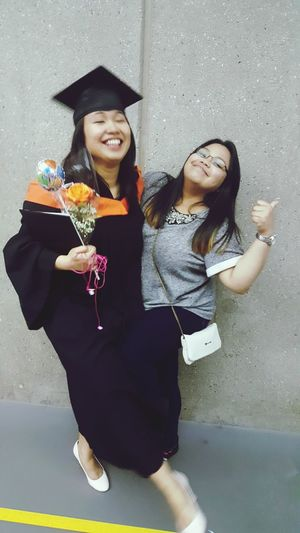Arianne's Graduation Photos. Friends Proud Engineer Happiness ♡ Love♡ Adult First Eyeem Photo