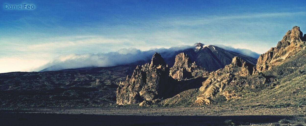 El Teide El Teide Valle Ucanca Tenerife Canarias Beautiful Beauty