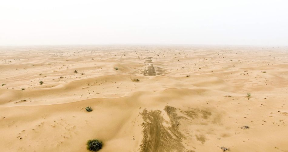 EyeEmNewHere Sand Sand Dune Nature Beach Desert Clear Sky Tranquility No People Day Arid Climate Landscape Scenics Outdoors Sky Beauty In Nature Water